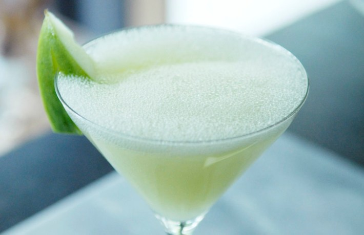 Recept: Cumelo meloen Cocktail vodka groene cocktail