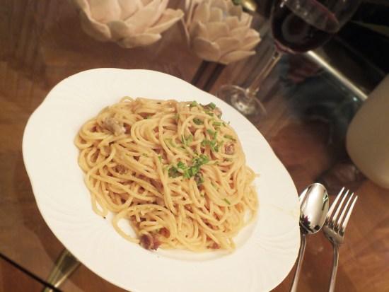 Recept Spaghetti Carbonara limoen twist pasta