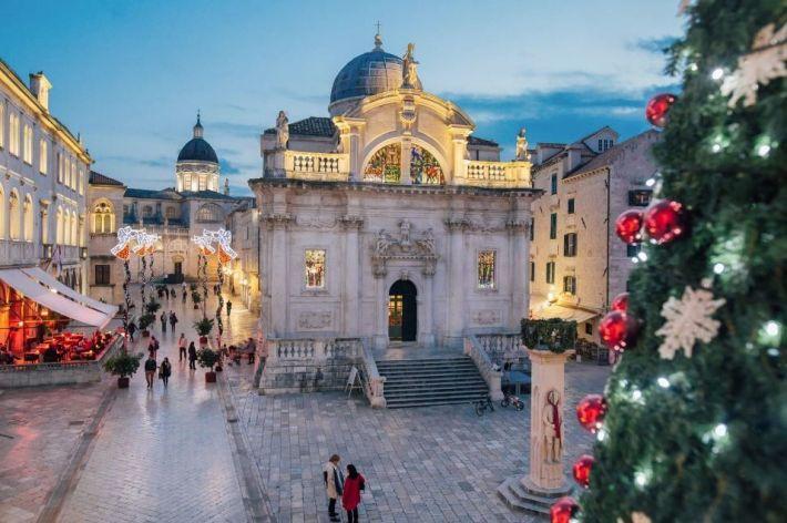 5 x Bijzondere kerstmarkten in Europa Kroatië Dubrovnik