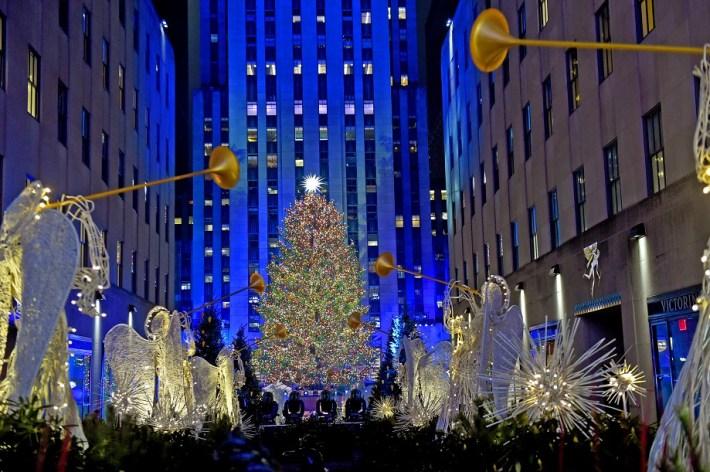 #SundayFunday New York kerst NYC Christmas tree Rockefeller Centre