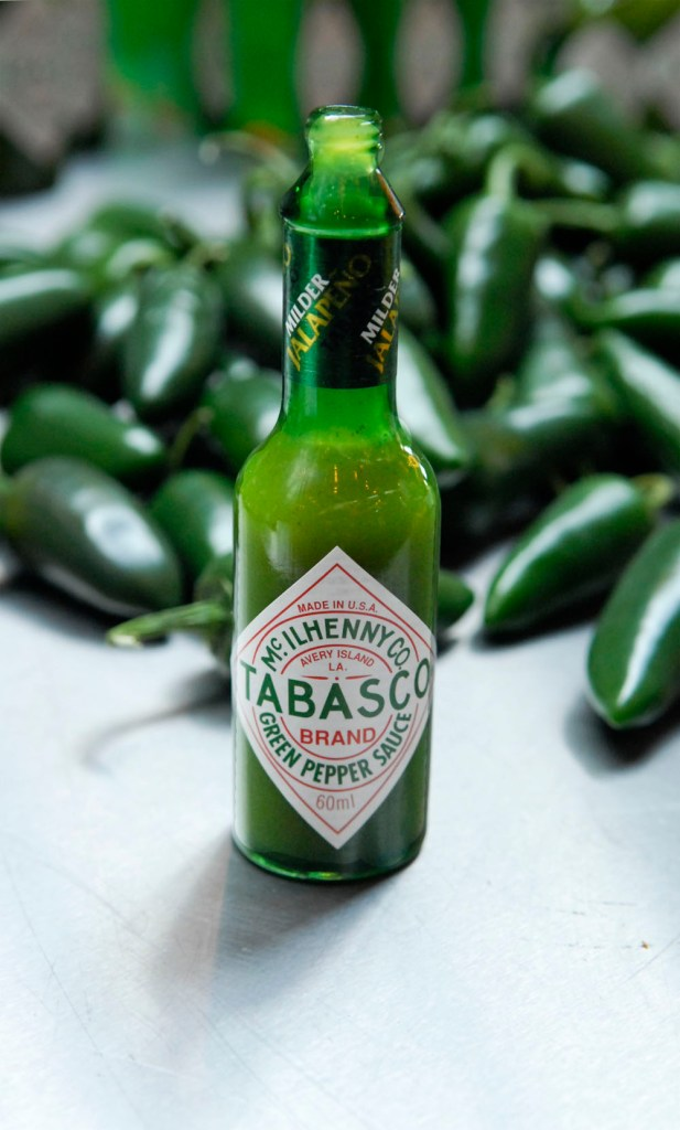 Tabasco green Musthave in de keuken: Tabasco