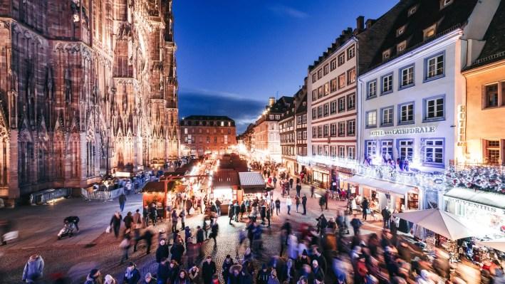 kerstmarkten Frankrijk Elzas Strasbourg