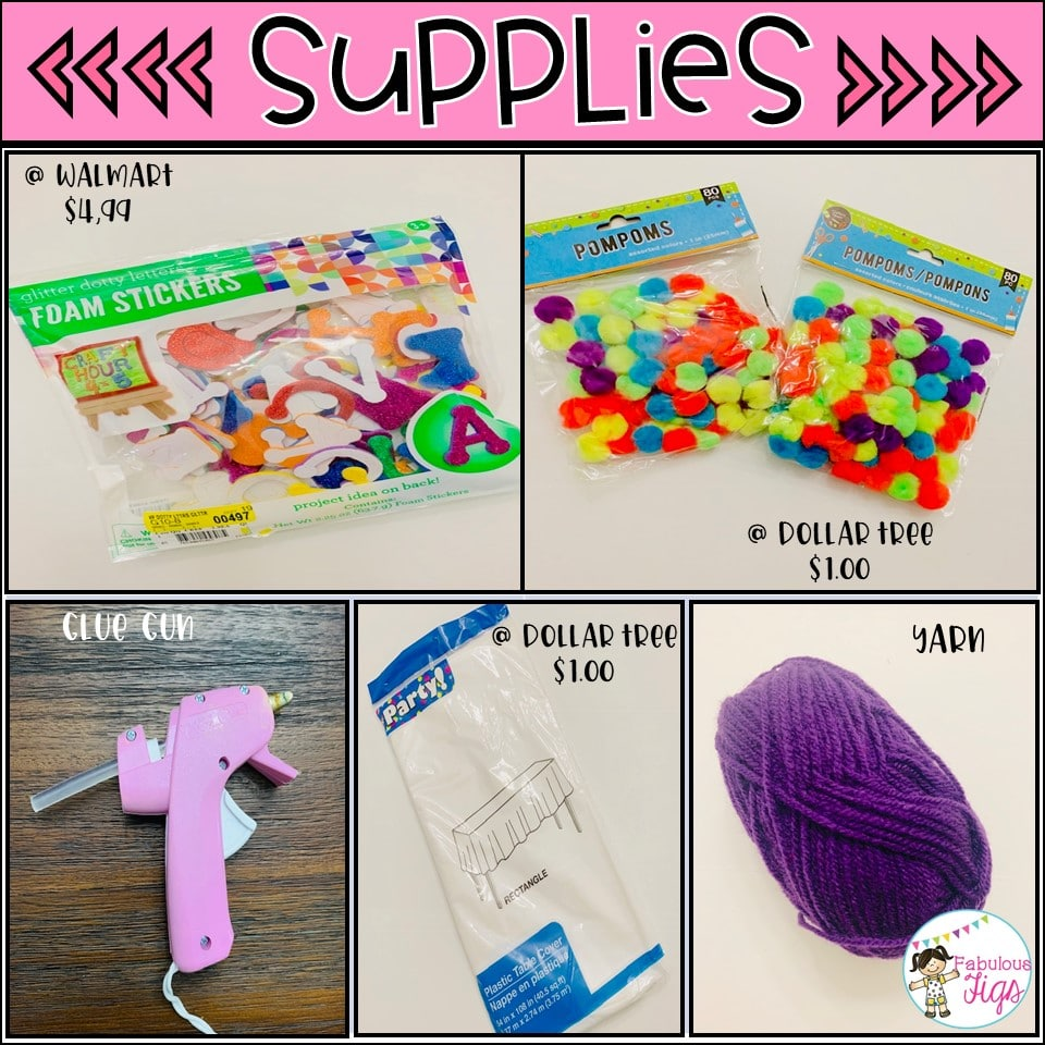 100th day of school Supplies