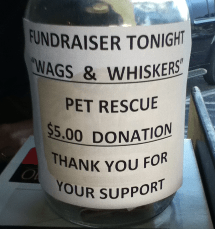 Wags-and-Whiskers-Pet-Rescue-Mardi-Gras-Sports-Bar-Donations