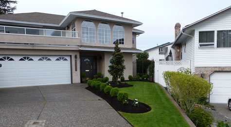 front yard landscaping ideas edmonton