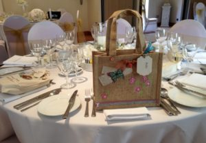 Bespoke items created for this wedding.