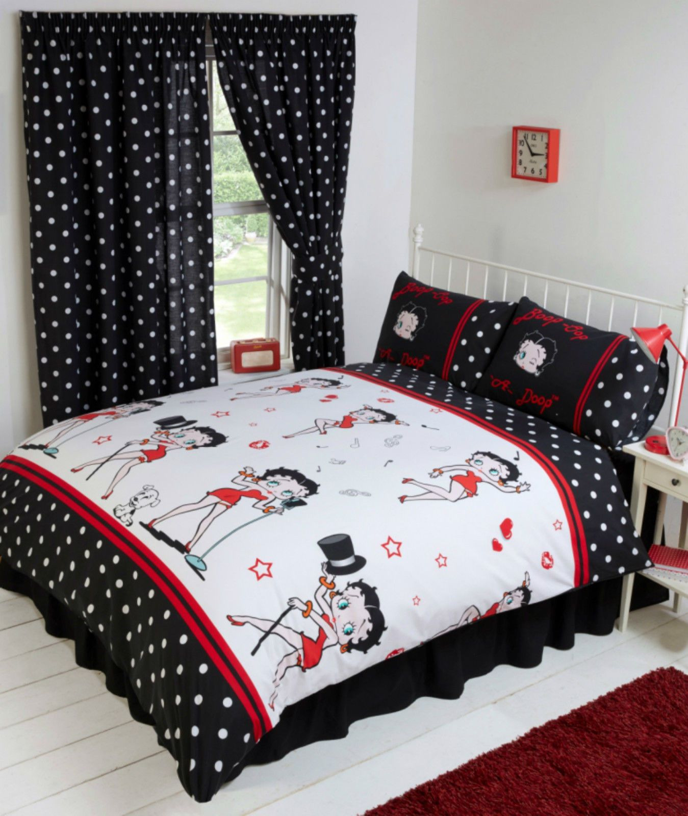 sofa bed covers affordable sets india betty boop bedroom reversible bedding duvet quilt cover ...