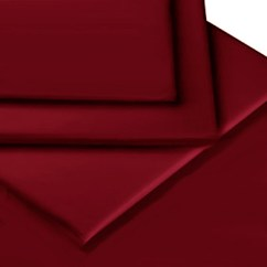 Kitchen Seat Covers Counter Tops Burgundy Colour Percale Mattress Fitted Sheet