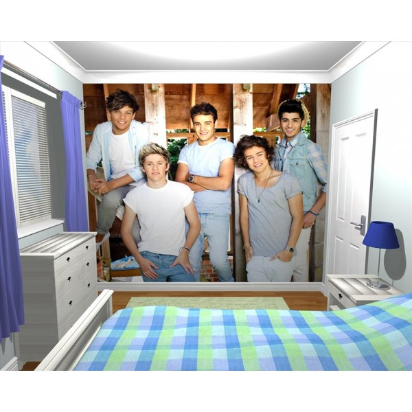 large sofa seat covers to buy giant wallpaper wall mural official 1d one direction ...