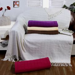 Cream Sofa Throws Corner Bed With Storage Gumtree Chair Throw 100 Cotton Colour
