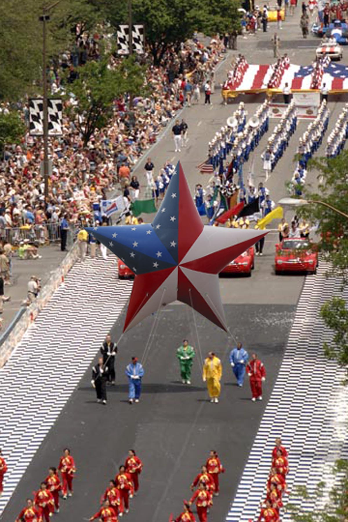 American Star Parade Balloon Fabulous Inflatables