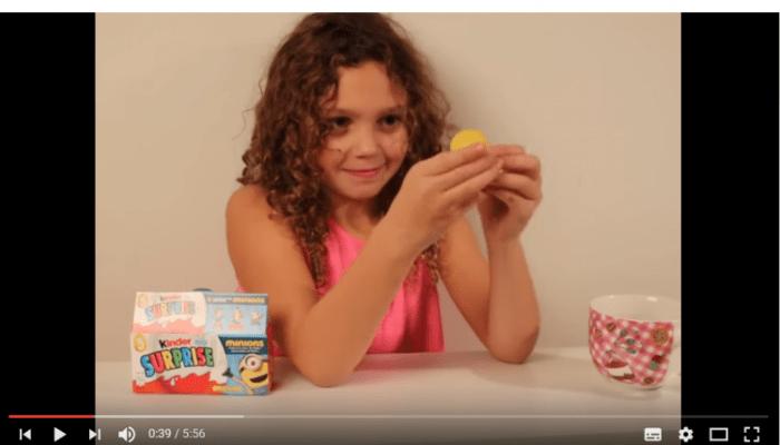 Surprise eieren van de Minions testen
