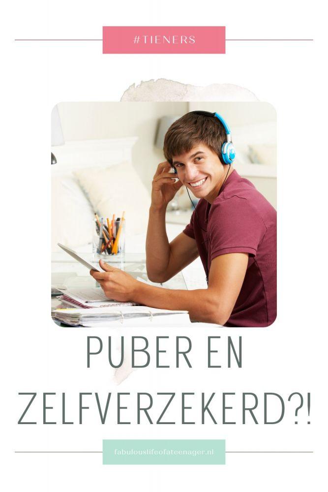 Zelfverzekerd en puber