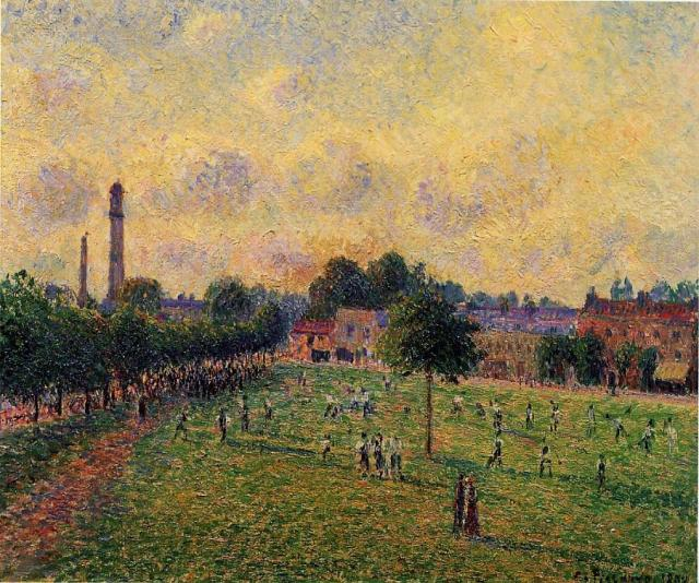 Camille Pissarro, Kew Gardens. Fine art reproduction by Fabulous Masterpieces