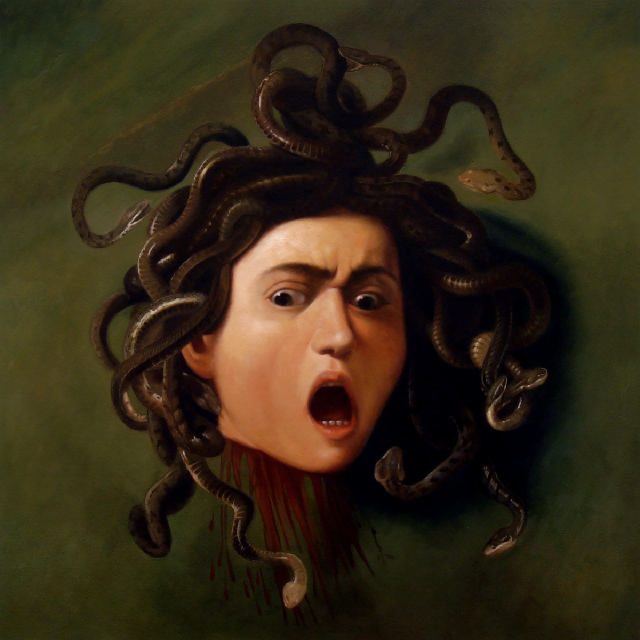 Caravvagio head of medusa