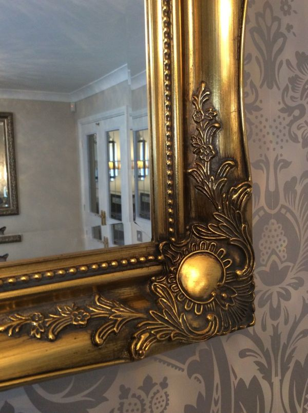 Antique Gold Wall Mirrors Decorative