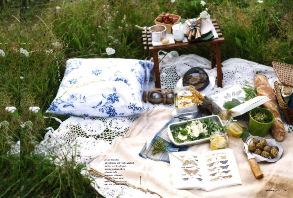 Posh picnic - Photo Donna Hay