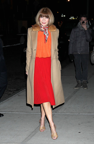 Vogue Editor has a classic style but adds the edge by clashing the colours.