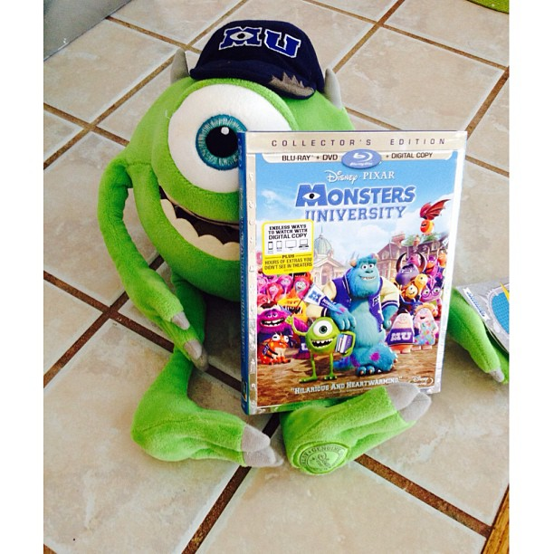 Monsters University on Blu-ray October 29th