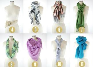 http://www.thefashionspot.com/life/171363-15-chic-and-creative-ways-to-tie-scarves/