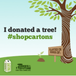 Save Trees this month with a simple tweet