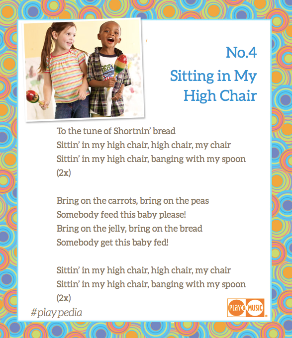 meal time tune for your toddler #playpedia