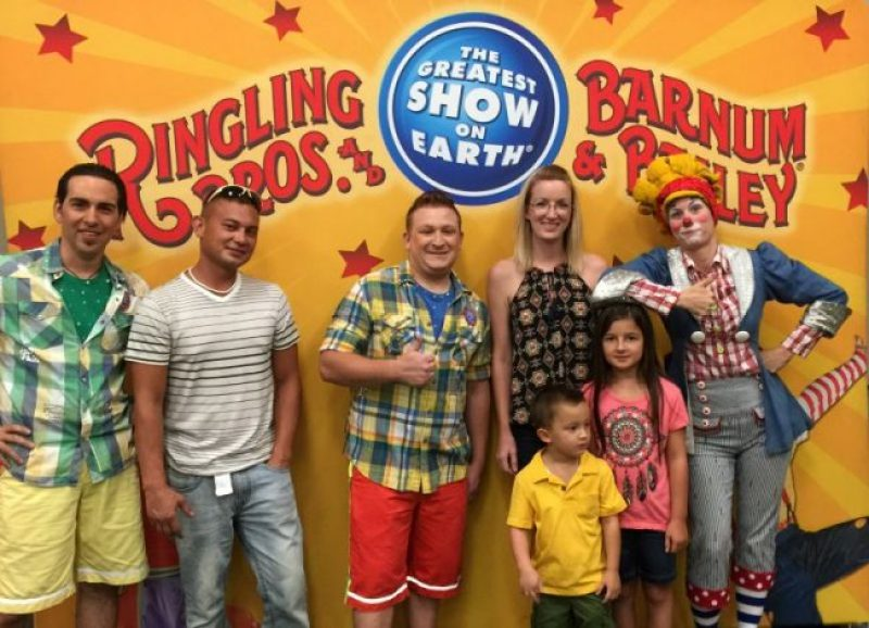 Ringling bros built to amaze post show wrap up fabulous mom blog i also met up with a few local bloggers that i had not met in real life yet that i was excited to meet the kids got to play with clown wigs m4hsunfo