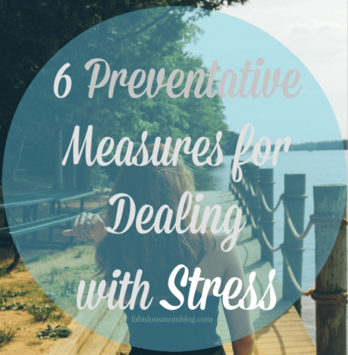 preventative measures for dealing with stress