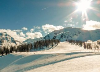 Ski fun at Whistler Blackcomb