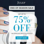 Julep End of Season Sale – Save up to 75% off gift sets and beauty favorites!