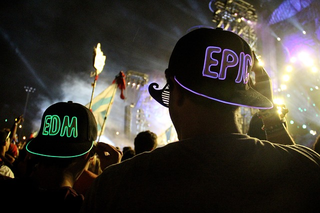 electronic music festivals