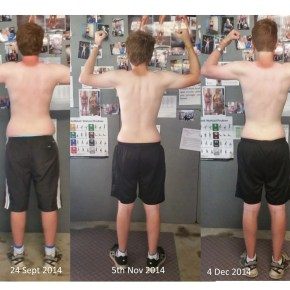 Back comparison Sept to Dec 2014