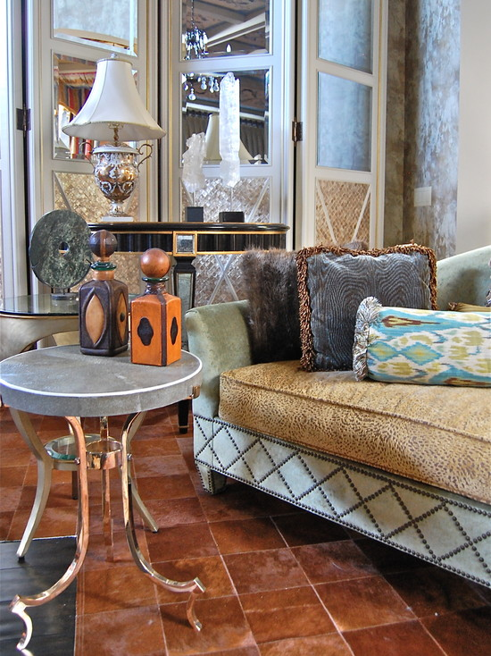10 Inspirational Art Deco Living Rooms