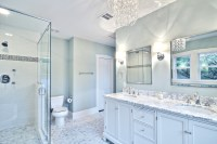 Blue and grey bathroom ideas