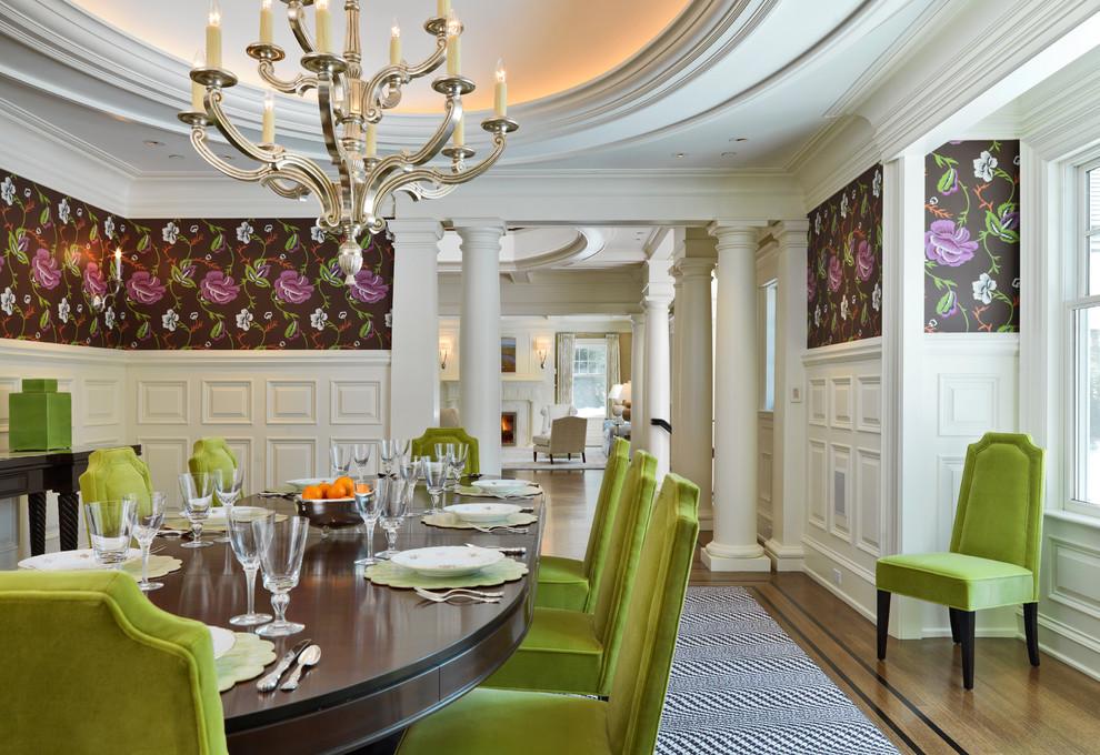 10 green dining room