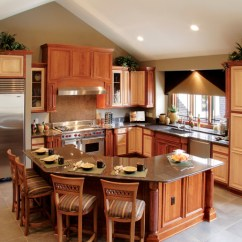 Kitchen Layout Ideas Work Station Table 10 G Shaped Traditional Idea