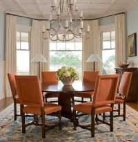 10 Orange Modern and Contemporary Dining Rooms