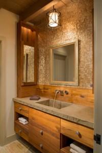 RUSTIC SMALL BATHROOM IDEAS
