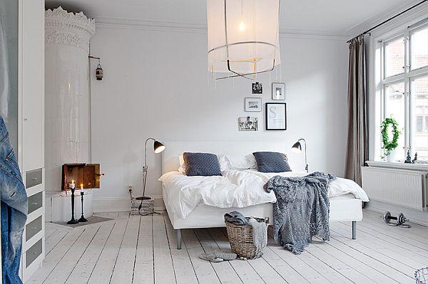 scandinavian bedroom design grey Scandinavian Interior Design Ideas