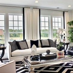 Design Ideas For Black And White Living Room Decorate My Apartment Decoration Elegant Decor