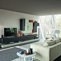Living Room Wooden Sofa Furniture Design My Walls Modern Modular Wall Units For