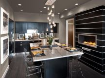 Kitchens with Modern kitchen island plans