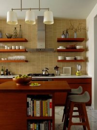 Open Kitchen Cabinet Ideas