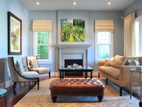 Roman Shades Inspired Living Rooms