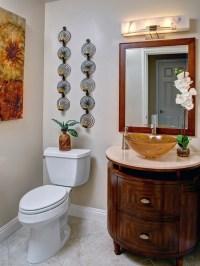 Elegant Bathroom Wall Dcor Ideas