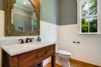 White Beadboard For Bathroom Vanity Ideas