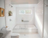 Soaking tub shower combination ideas