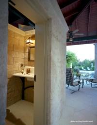 Pool house bathroom Home design ideas