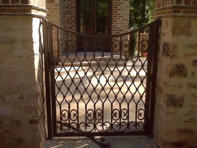 Wrought Iron Garden Gates Pictures