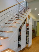 Under stairs shelving design ideas